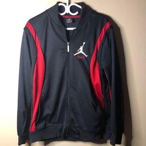 Air Jordan flight full zip sweater
